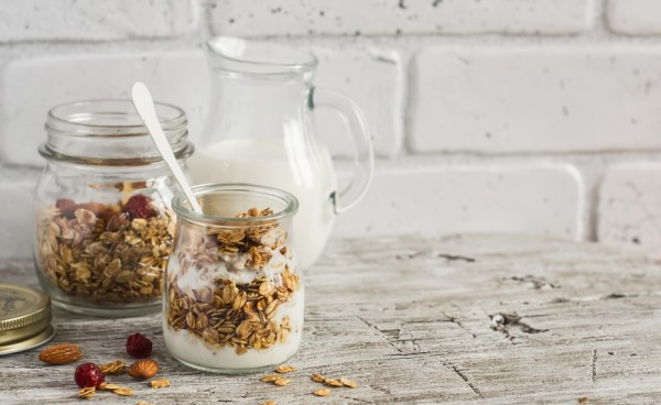 Best home made granola in a pot