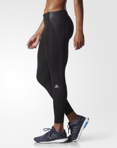 Adidas Women's Super Nova Long Tights in black