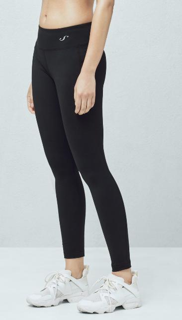 Mango Fitness & Running Slimming effect leggings in black