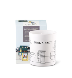 Rendez Vous Soy Scented Candle Book Addict