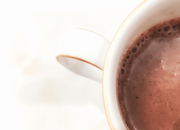 Healthy Hot Chocolate Drink in a mug